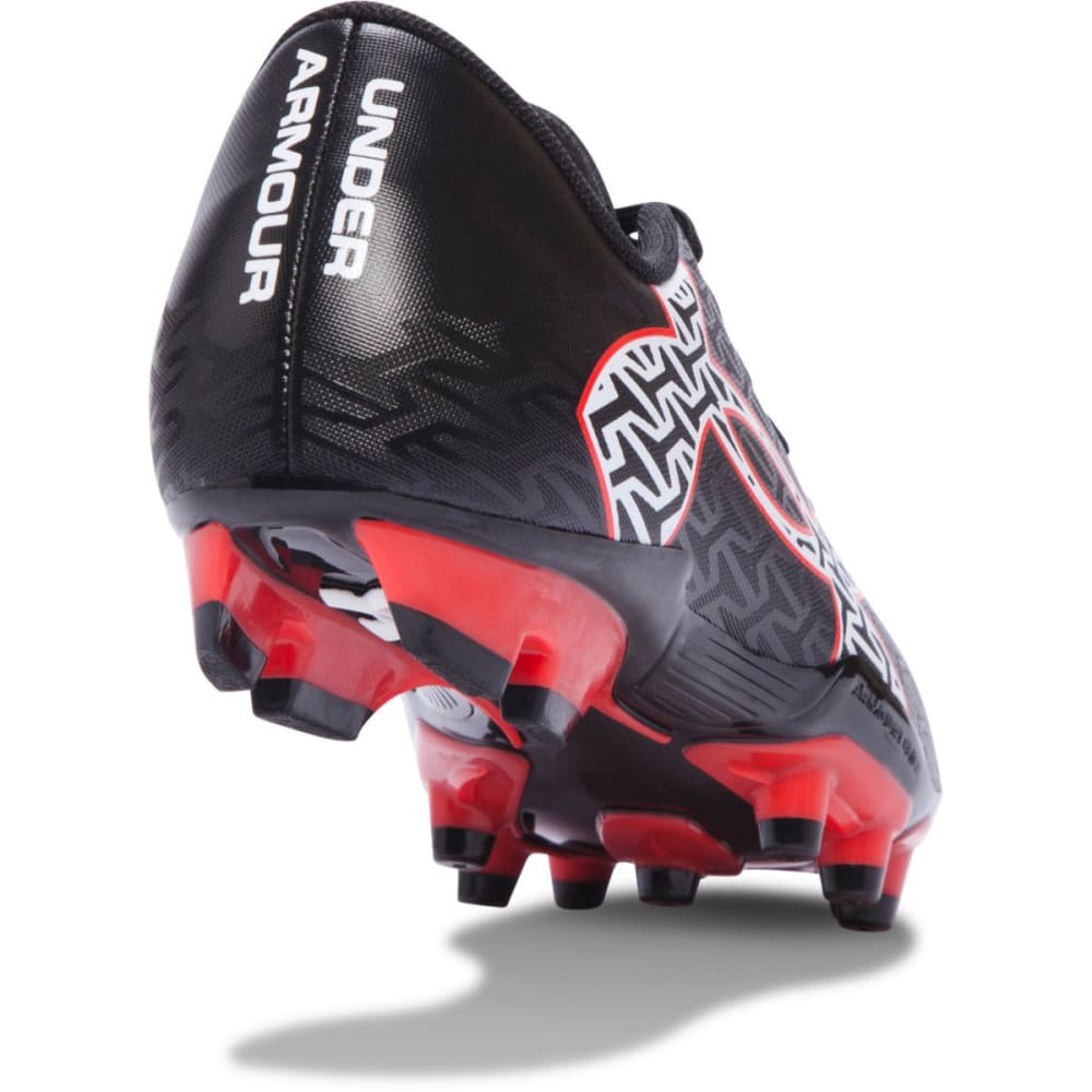 UNDER ARMOUR Boys' CF Force 2.0 FG Jr. Soccer Cleats - BLACK