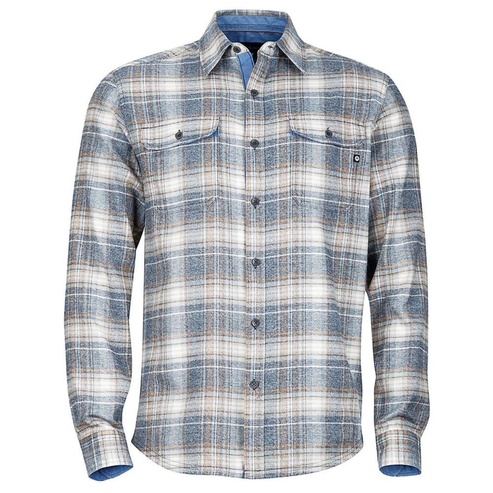MARMOT Men's Jasper Flannel Shirt - 2835-DARK INDIGO