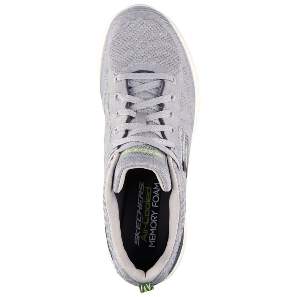 SKECHERS Men's Burst Deal Closer Shoes - LIGHT GREY
