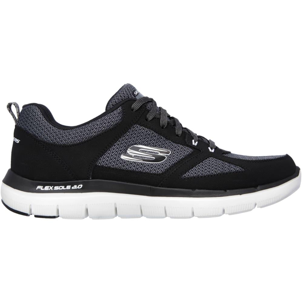 SKECHERS Men's Flex Advantage 2.0 Sneakers - BLACK