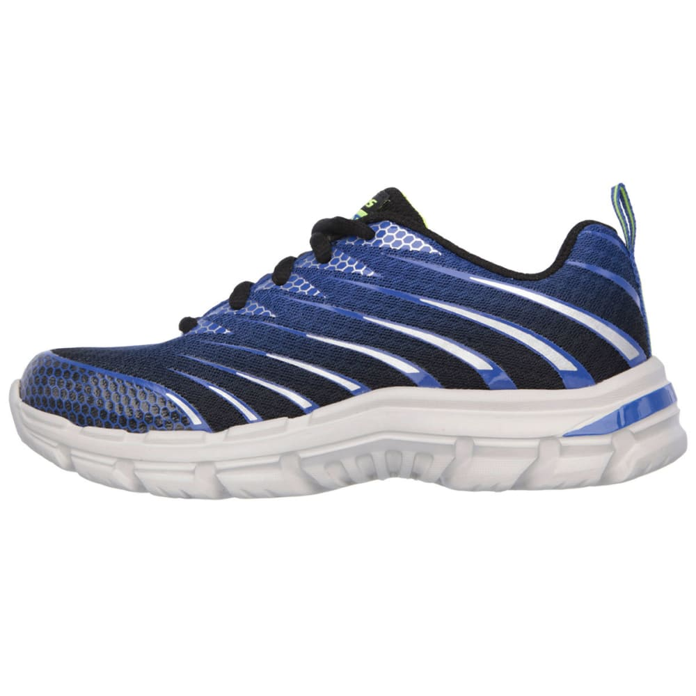 SKECHERS Boys' Nitrate Running Shoes - ROYAL BLUE
