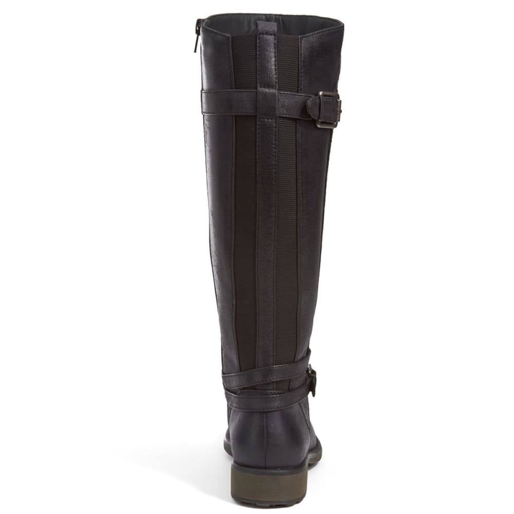 BARE TRAPS Women's Sabio Tall Shaft Riding Boots - BLACK
