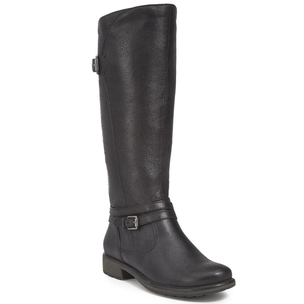 BARE TRAPS Women's Sabio Tall Shaft Riding Boots - BLACK