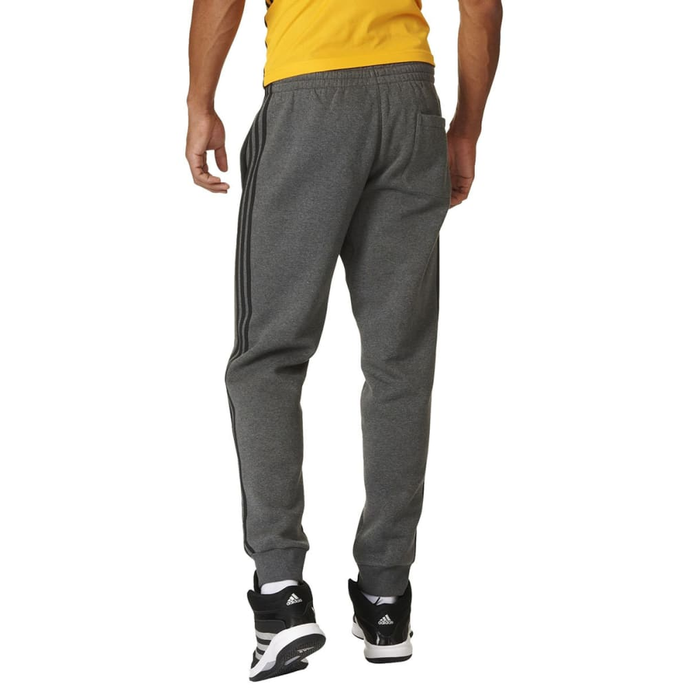 ADIDAS Men's Slim Sweat Pants - DK GREY HTHR-AX7946