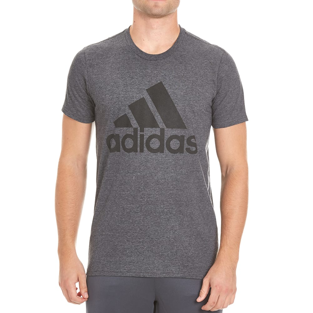 ADIDAS Men's Badge of Sport Classic Tee - DGH/BLK-AZ1536