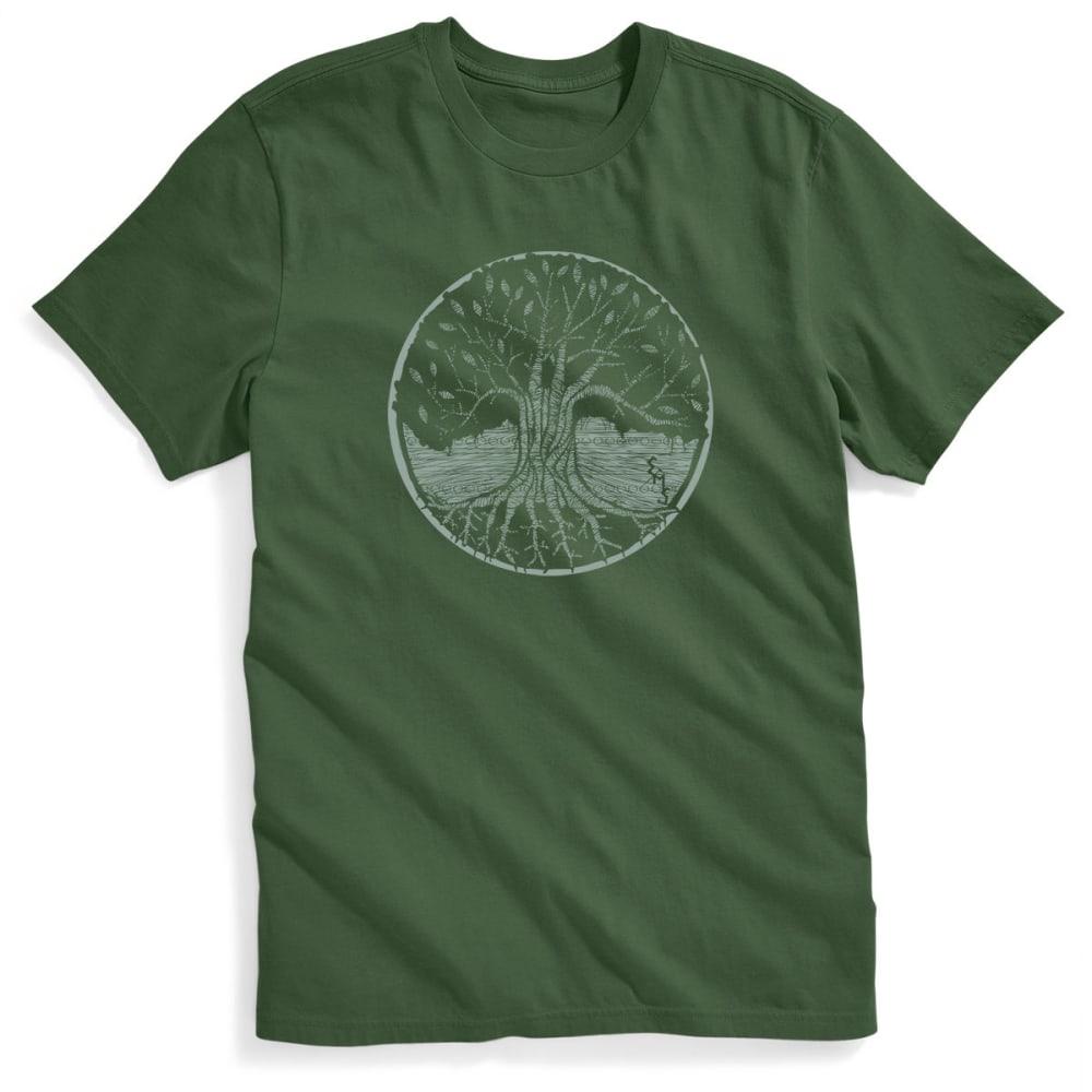 EMS Men's Grass Roots Graphic Tee - BRONZE GREEN