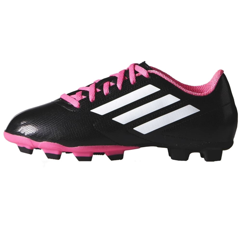ADIDAS Girls' Conquisto Soccer Cleats - BLACK