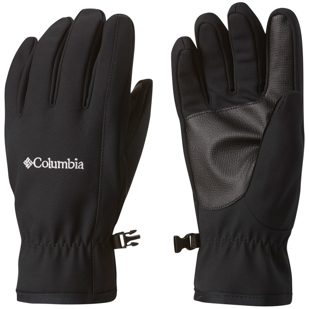COLUMBIA Men's Ascender Softshell Touchscreen Gloves - BLACK 010