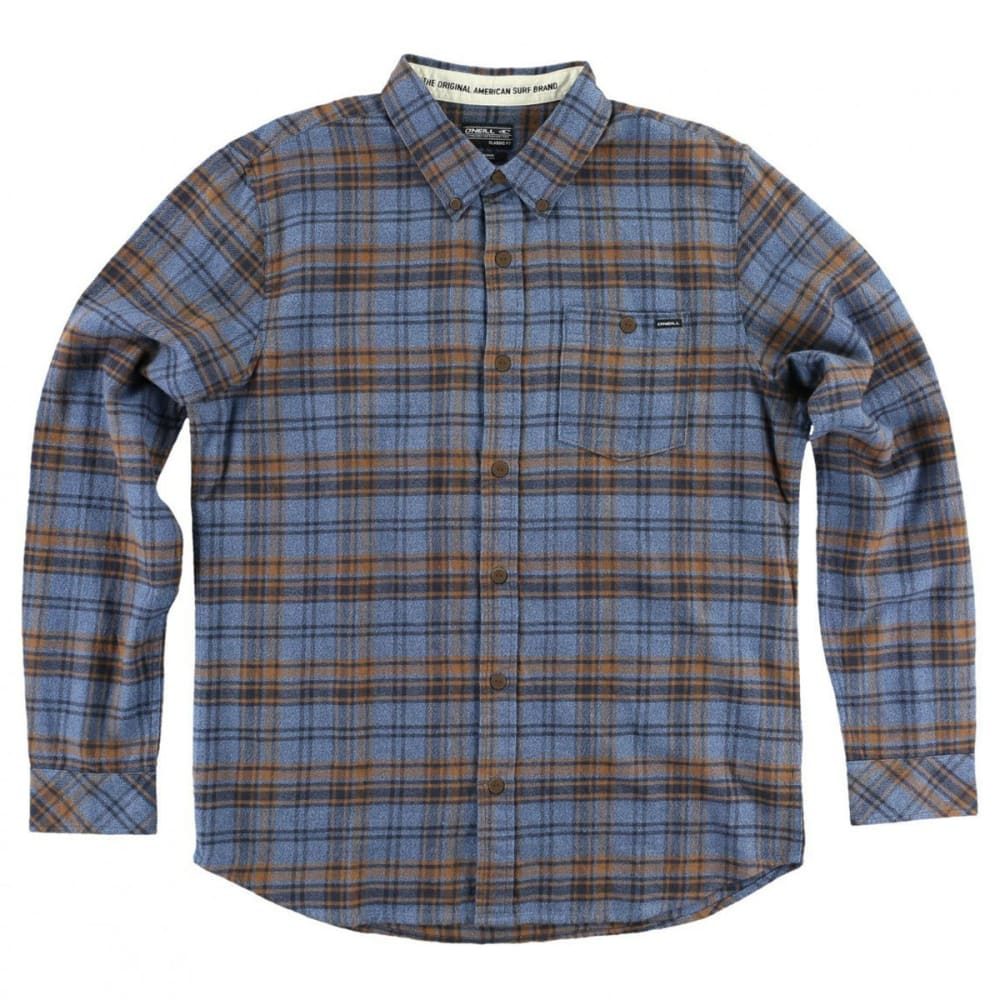 O'NEILL Guys' Redmond Flannel Shirt - BLUE-BLU