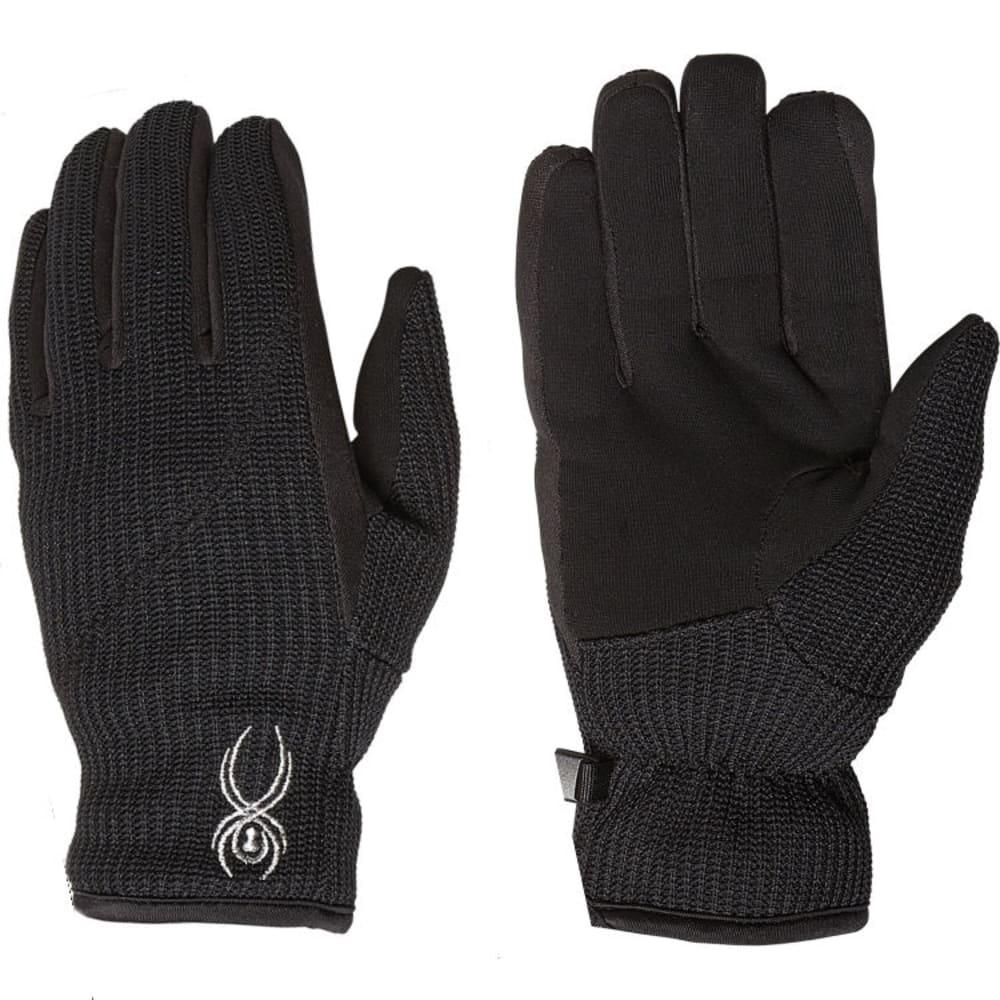 SPYDER Women's Core Sweater Conduct Gloves - 001-BLACK