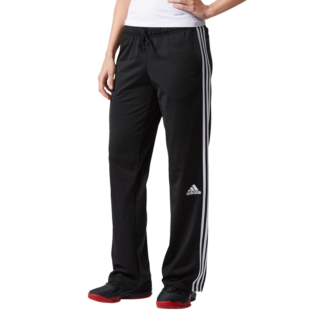 ADIDAS Women's 3 Stripes Pants - BLK/WHT-AP0425