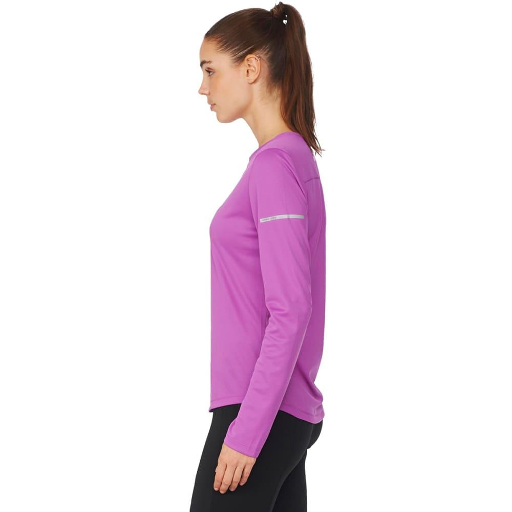 ADIDAS Women's Running Long-Sleeve Shirt - SHOCK PRPL-AX7510