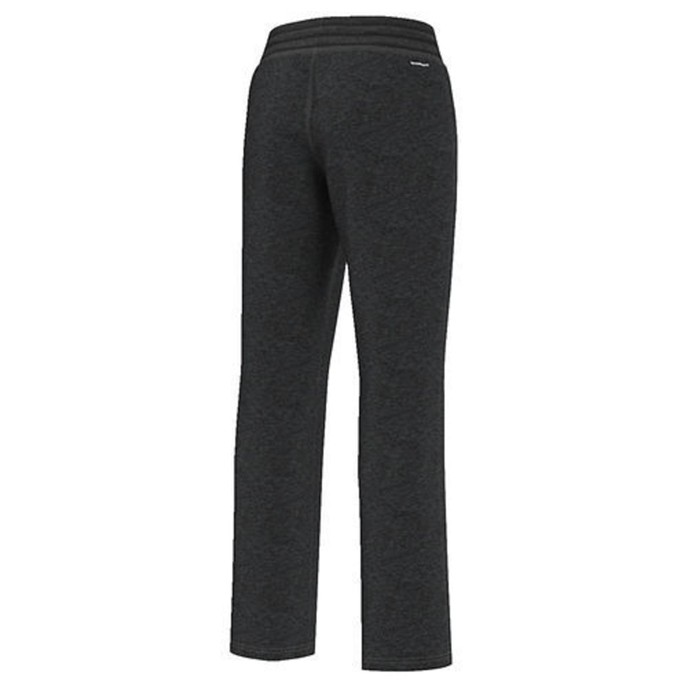 ADIDAS Women's Team Issue Fleece Dorm Pants - BLACK HTHR-AY7641