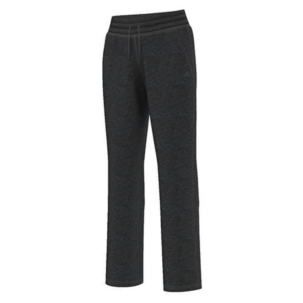 ADIDAS Women's Team Issue Fleece Dorm Pants - BLACK HTHR-AY7641