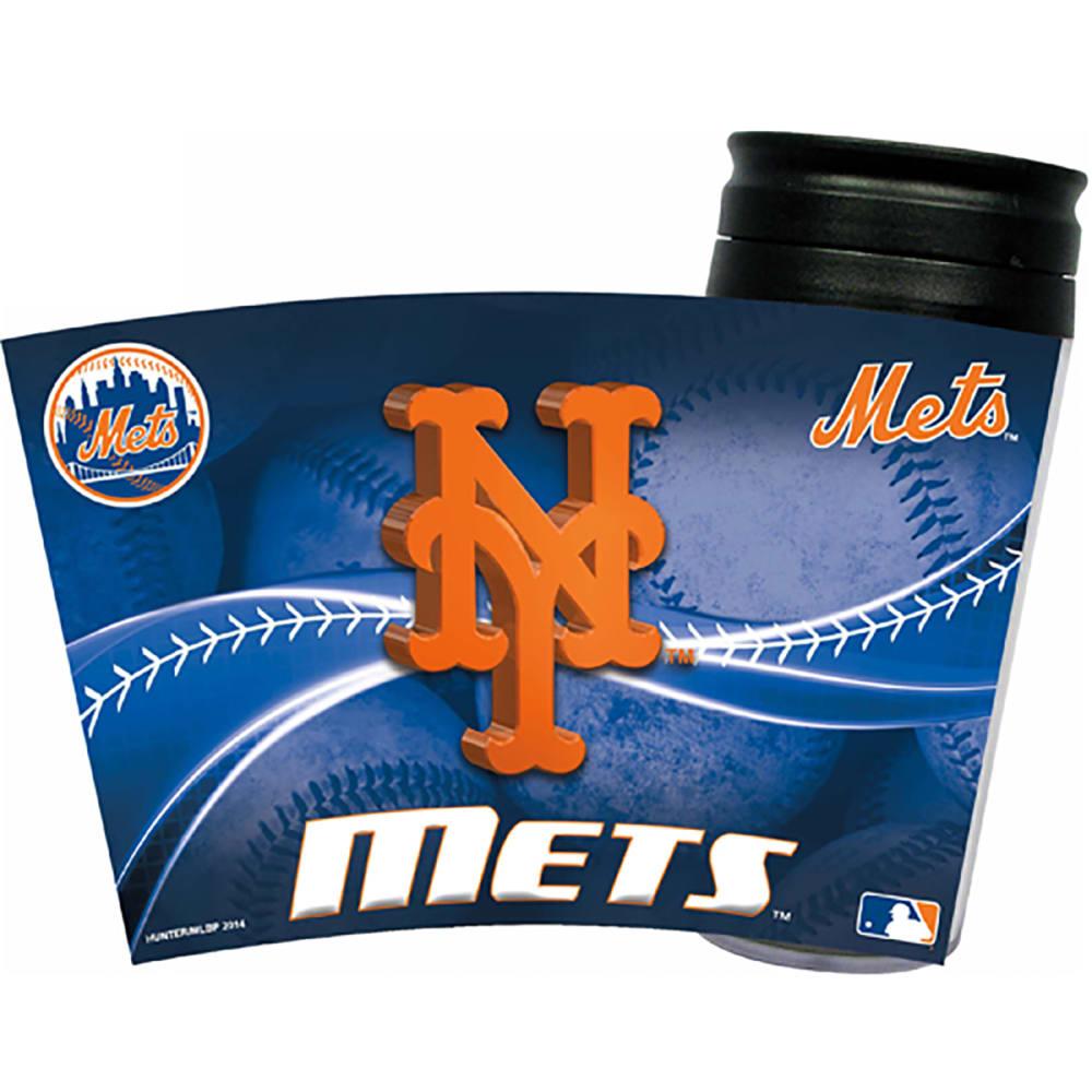NEW YORK METS Acrylic Tumbler W/ Wrap Insert - ROYAL BLUE