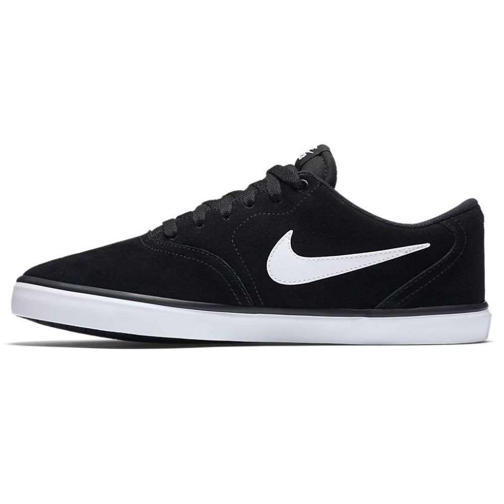 NIKE SB Men's Check Solarsoft Skate Shoes - BLACK