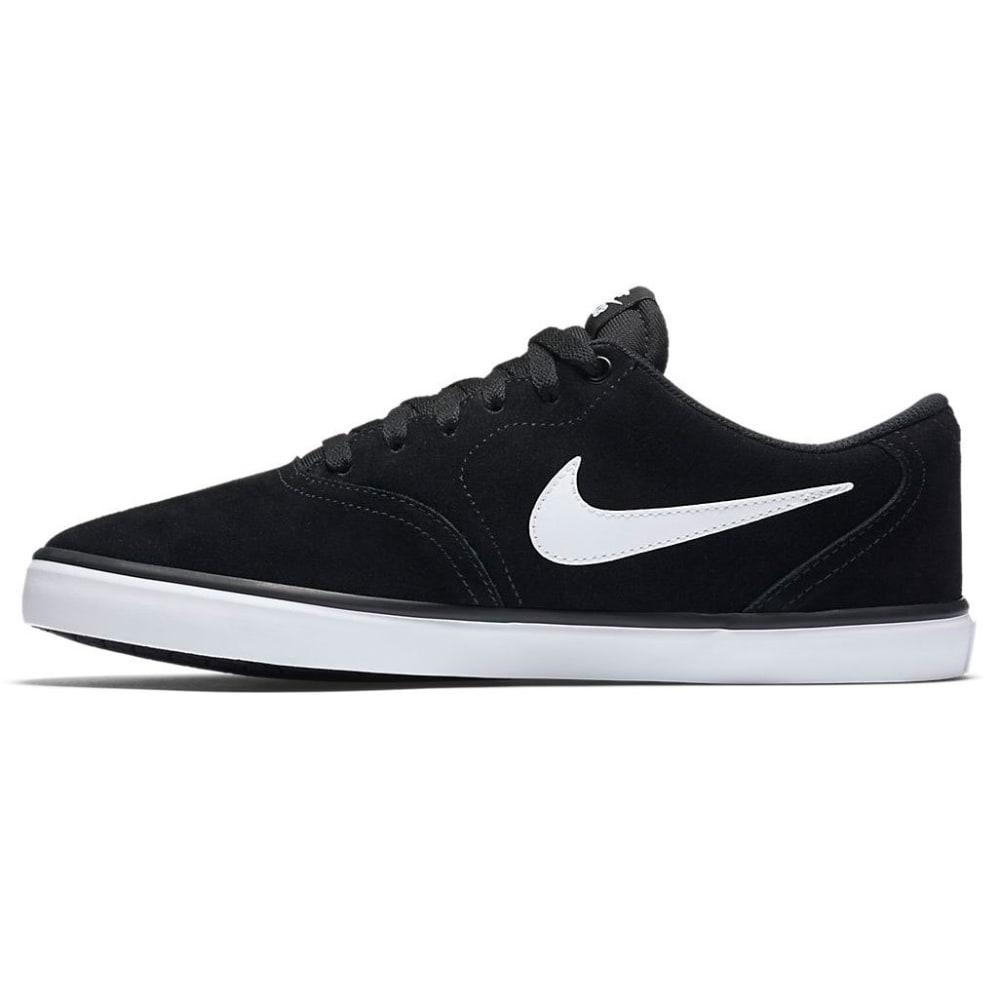 NIKE SB Men's Check Solarsoft Skate Shoes - BLACK