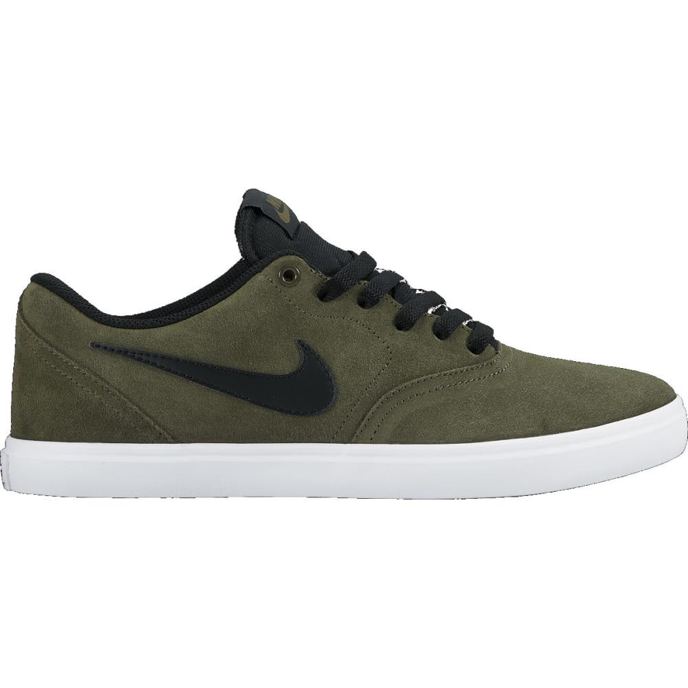 NIKE SB Men's Check Solarsoft Skate Shoes - NEUTRAL/Kha/blck