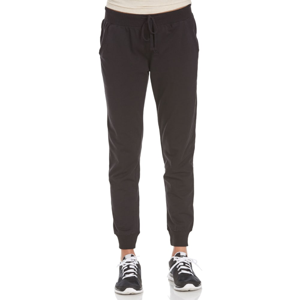 Ambiance Juniors French Terry Joggers - Black, S