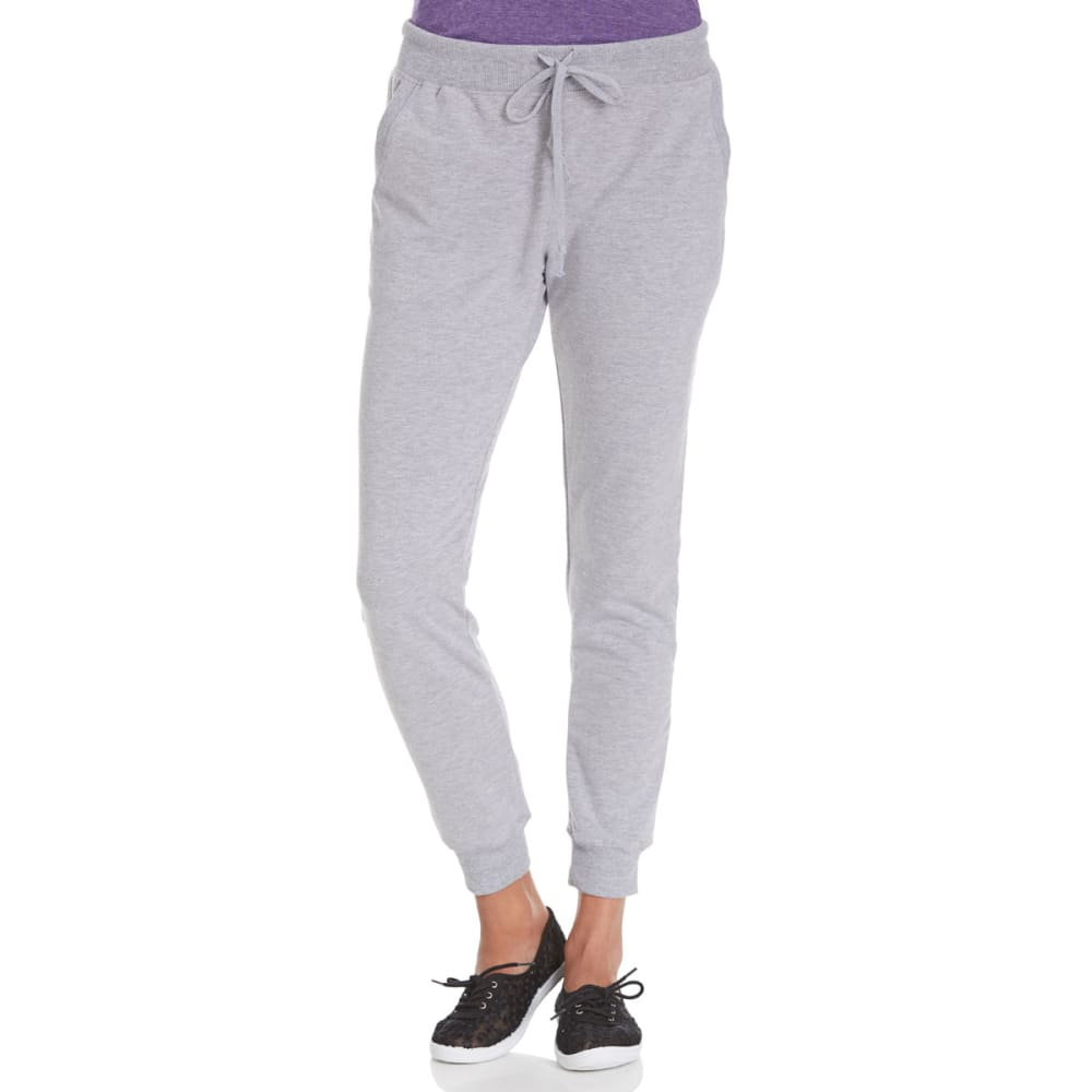 AMBIANCE Juniors' French Terry Joggers S