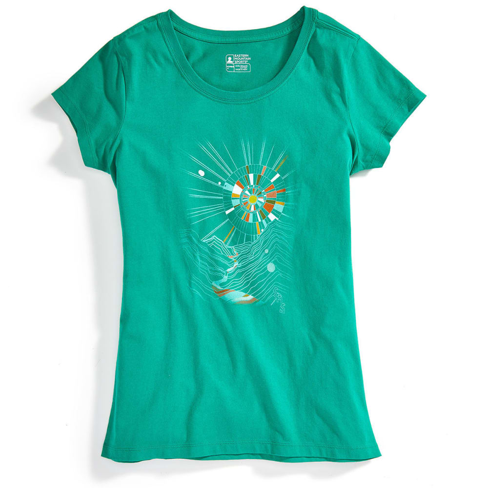 EMS Women's Eventide Graphic Tee - VIRIDIS