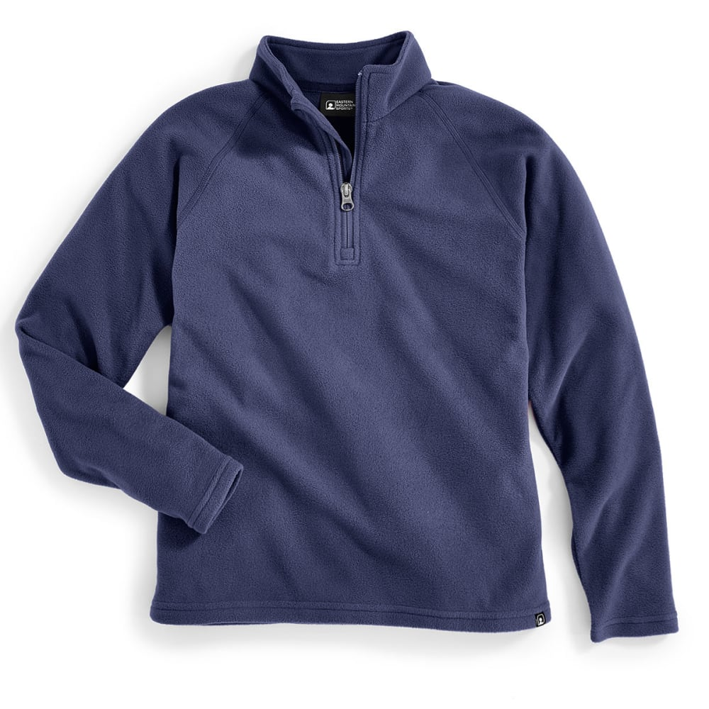 Ems(R) Boys' Classic Micro Fleece  1/4 Zip - Blue, S