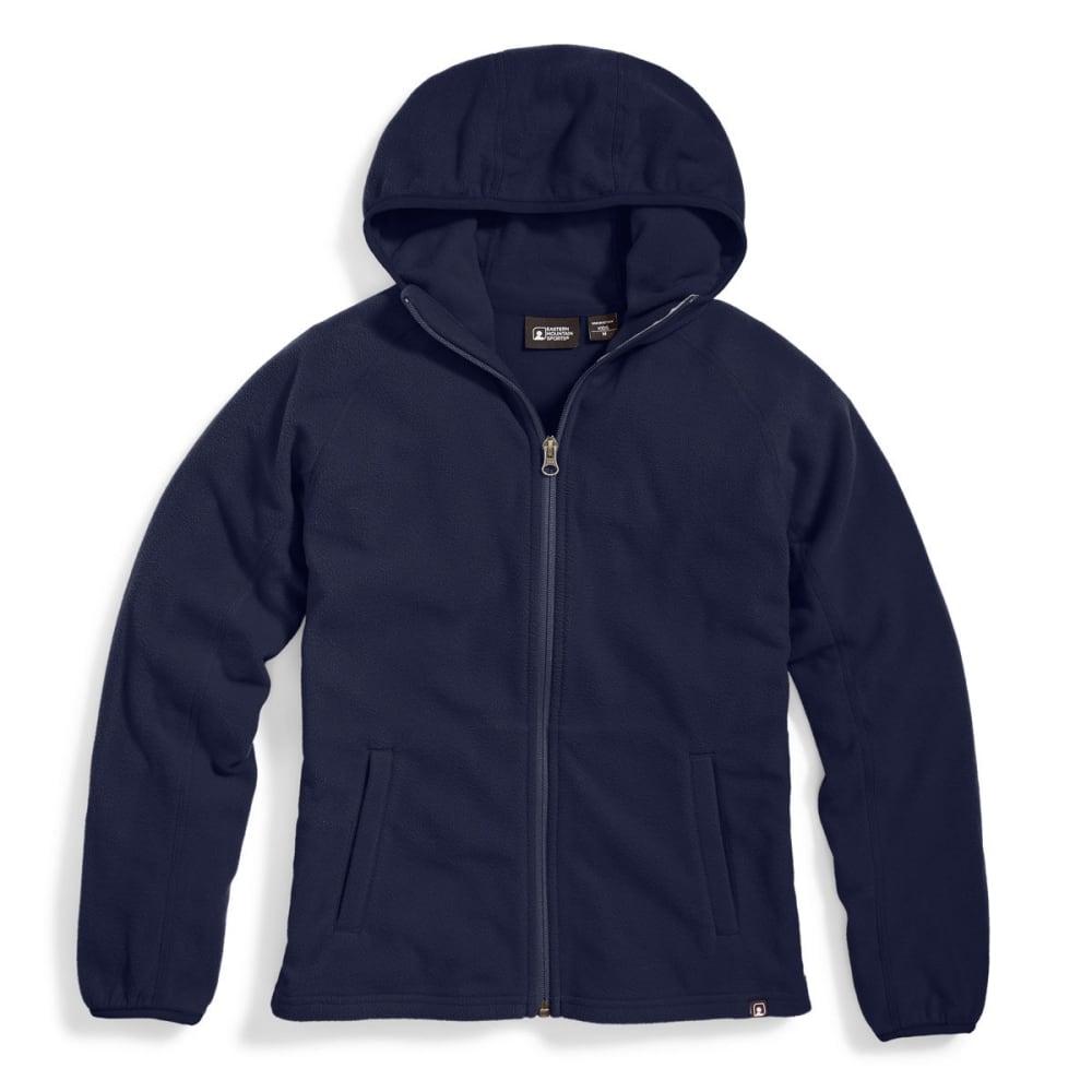 EMS Boys' Classic Micro Fleece Hoodie - PEACOAT
