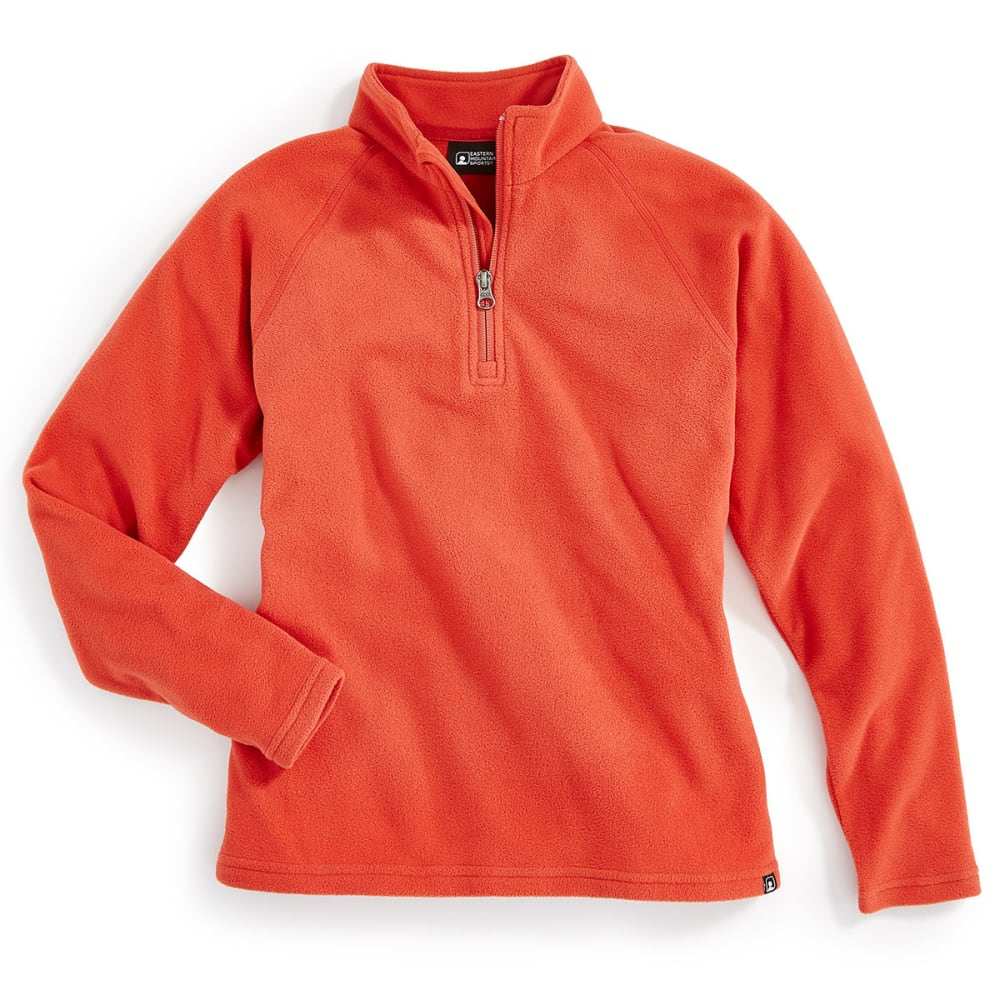 EMS Girls' Classic Micro Fleece ¼ Zip - BAKED APPLE