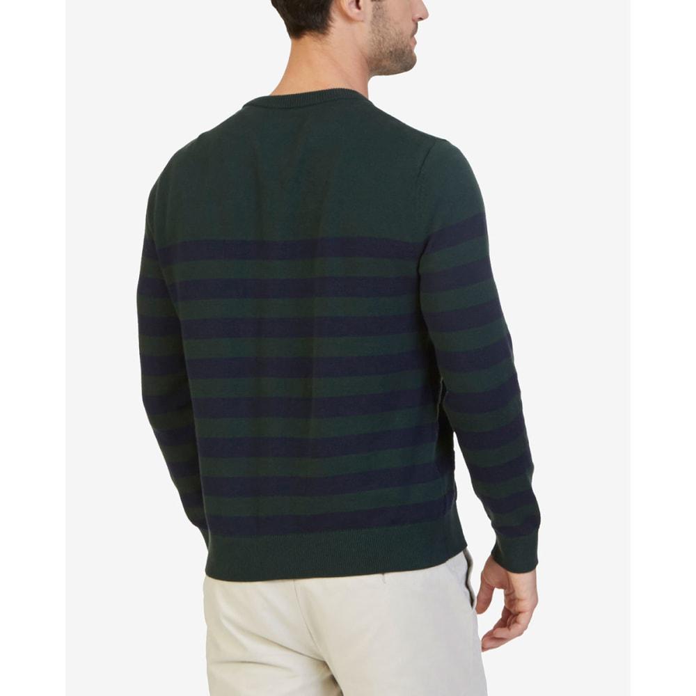 NAUTICA Men's Breton Striped Crewneck Sweater - KELP SEAS 3KS