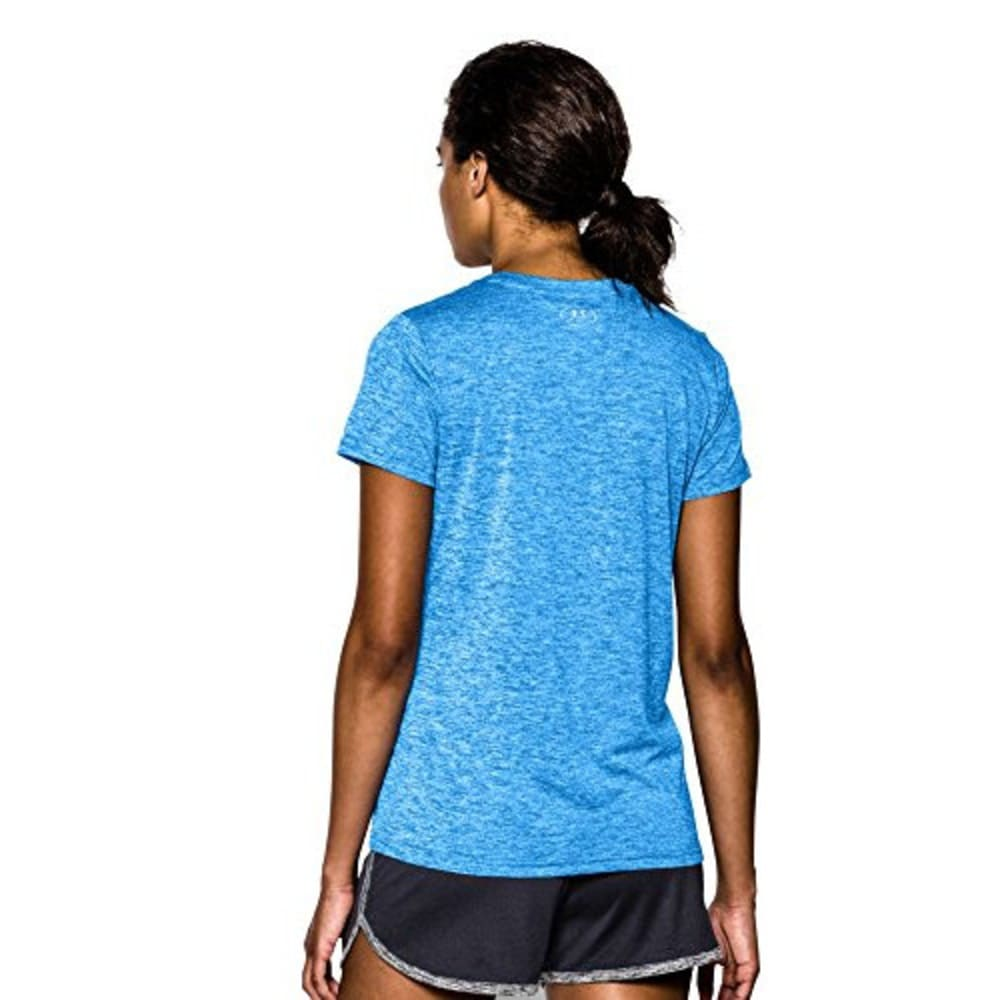 UNDER ARMOUR Women's Tech Twist V-Neck Tee - SNORKLE-481