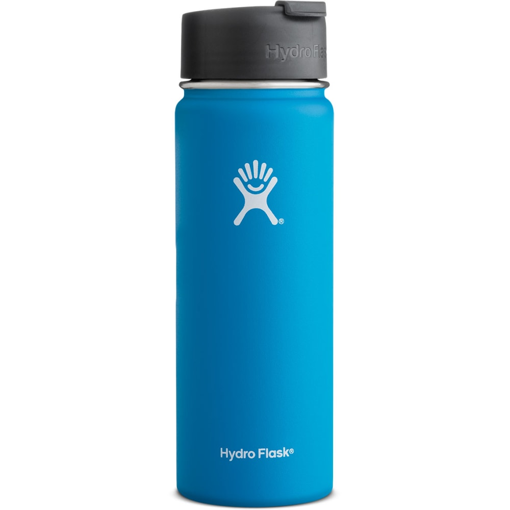 HYDRO FLASK 20 oz. Wide Flip Lid Water Bottle, Pacific - PACIFIC