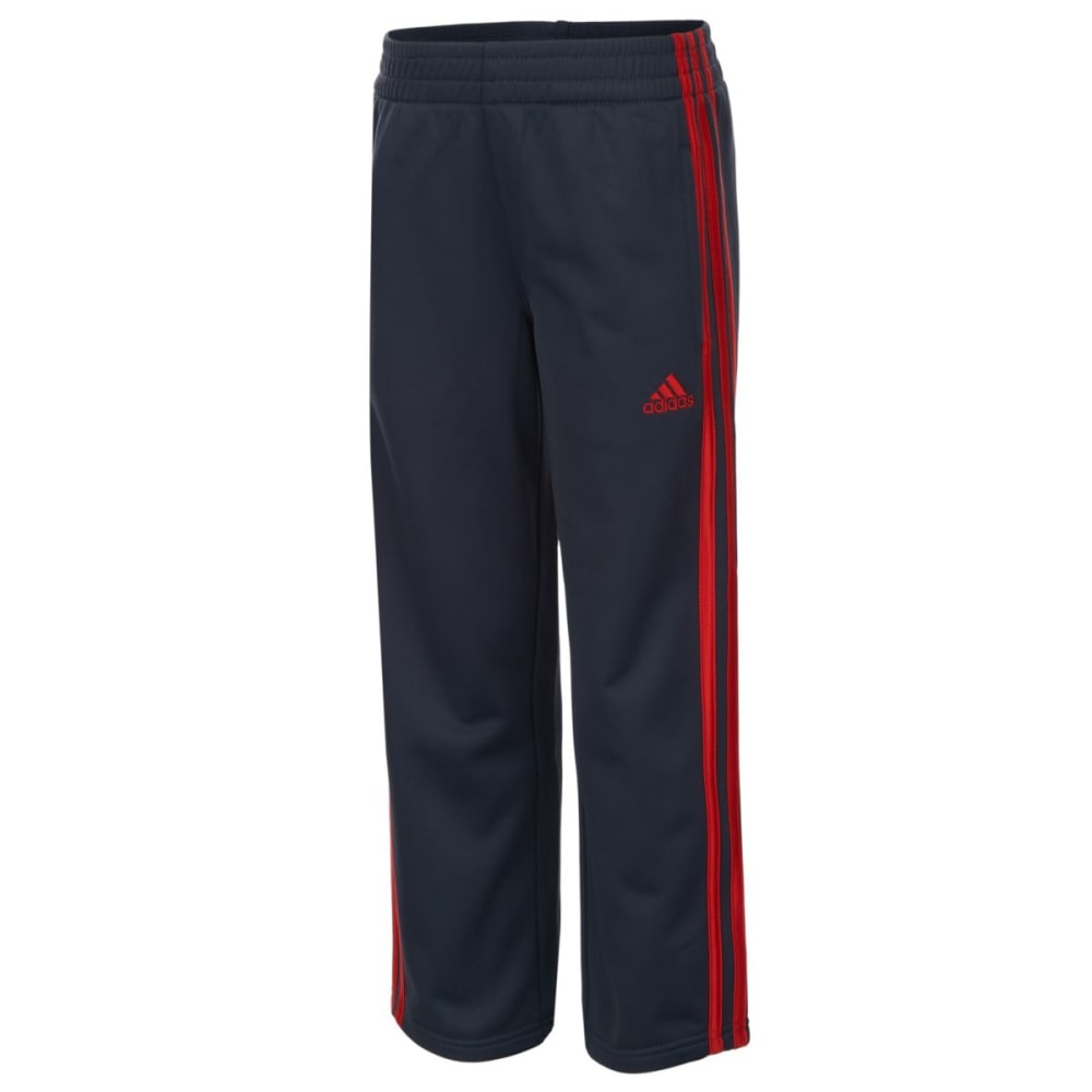 ADIDAS Boys' Tricot Pants - MERCURY/RED-H04