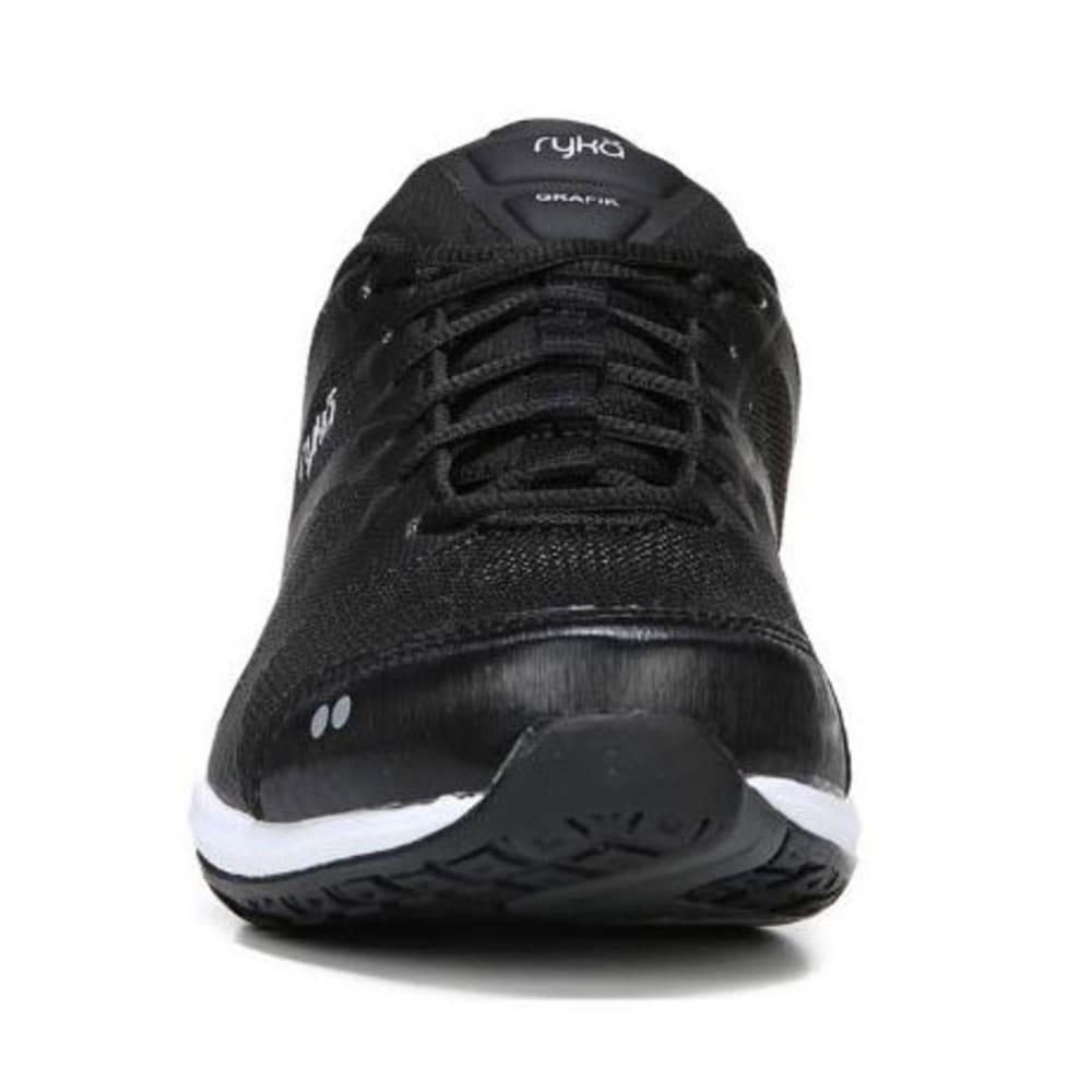 RYKA Women's Grafik Sneakers - BLACK