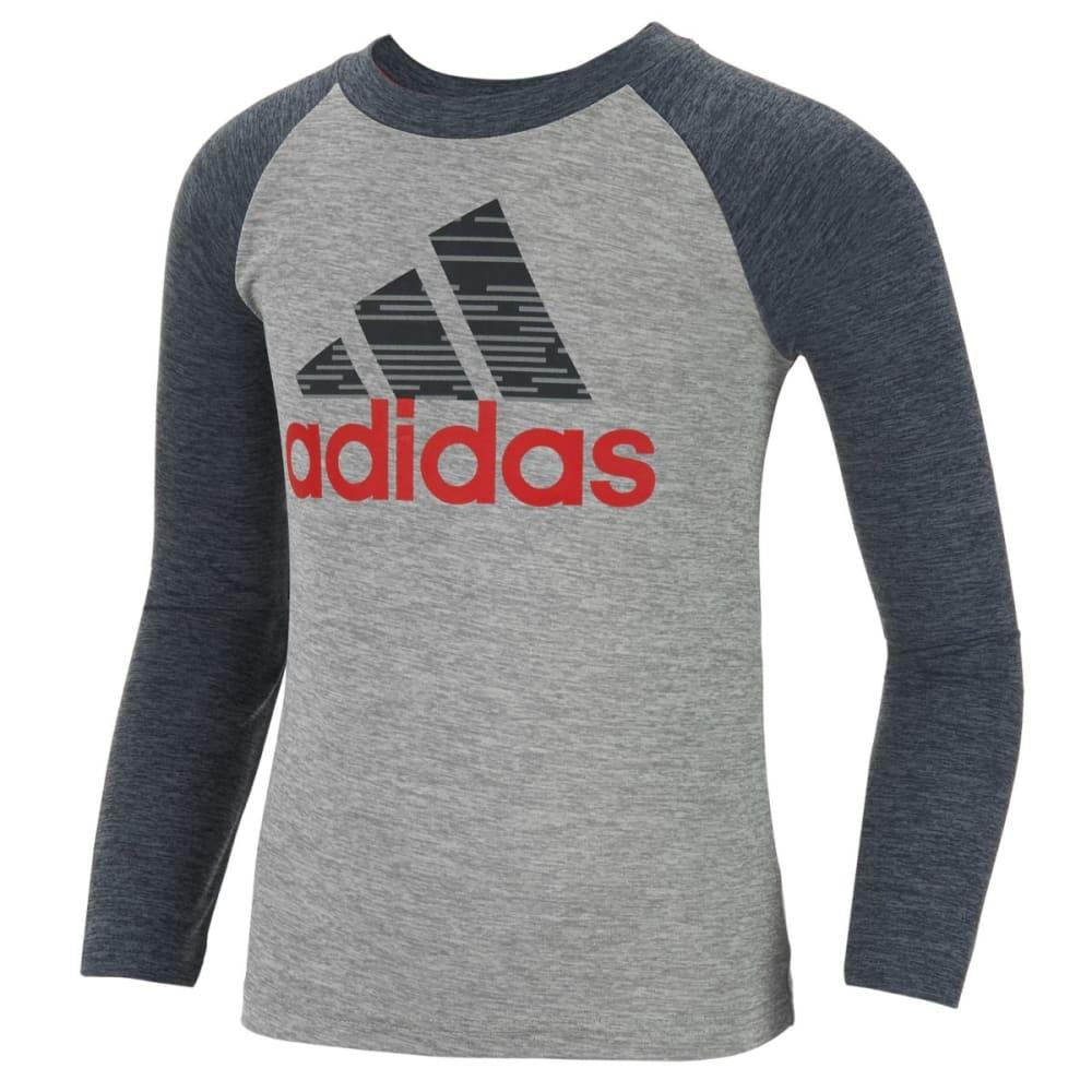 Adidas Boys Training Dna Long-Sleeve Tee - Black, 4