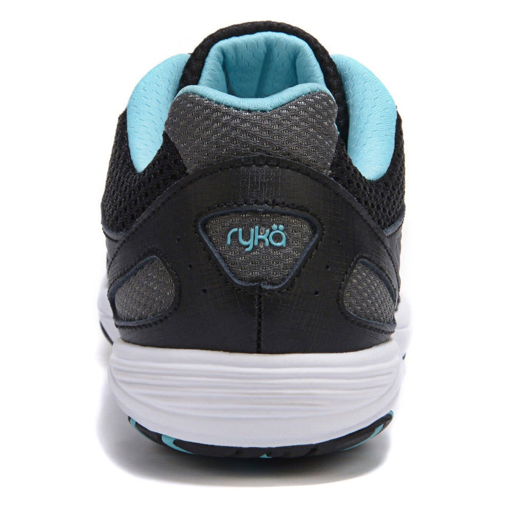 RYKA Women's Dash 2 Walking Shoes, Wide - BLACK