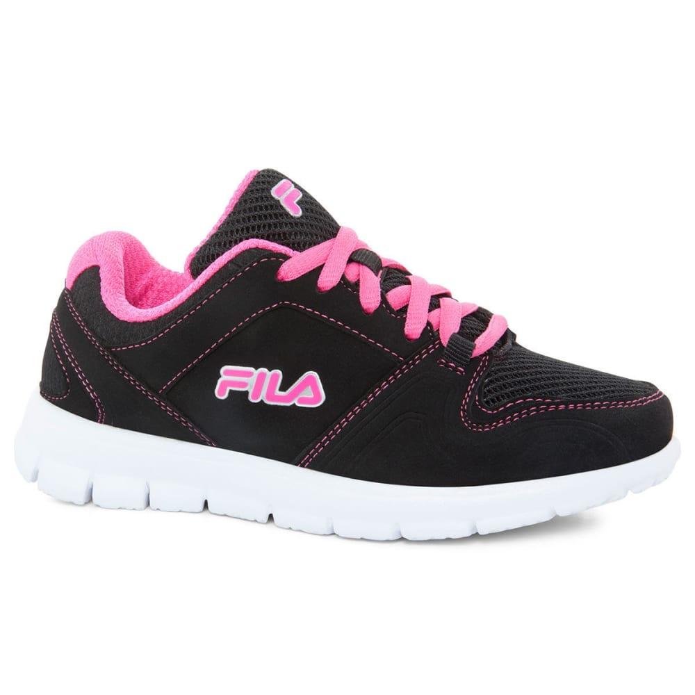 FILA Girls' Speed Runner Sneakers - BLACK