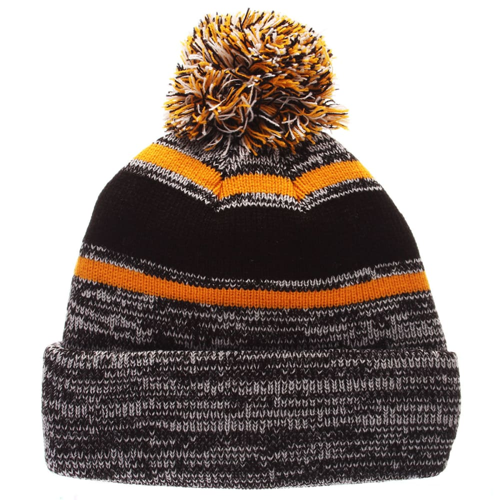 BOSTON BRUINS Granite Cuffed Knit Hat - GREY/BLK
