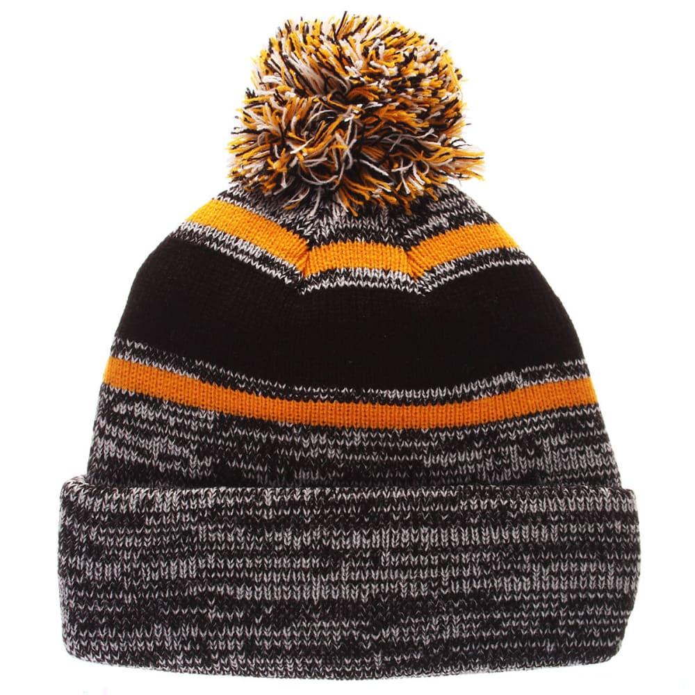 BOSTON BRUINS Granite Cuffed Knit Hat - GREY/BLK