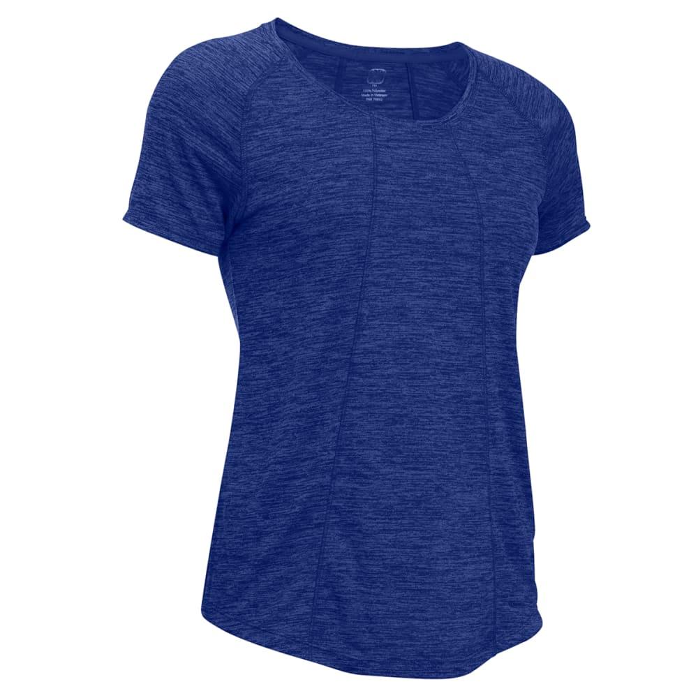 APANA Women's Short-Sleeve Top - BLUE-BLU