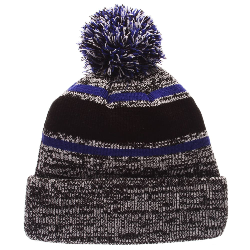 NEW YORK RANGERS Granite Cuffed Knit Hat - GREY/RYL