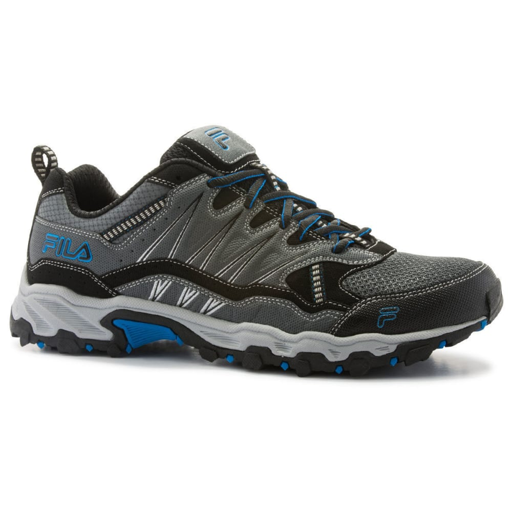 FILA Men's At Peak 16 Trail Running Shoes, Wide - CASTLEROCK