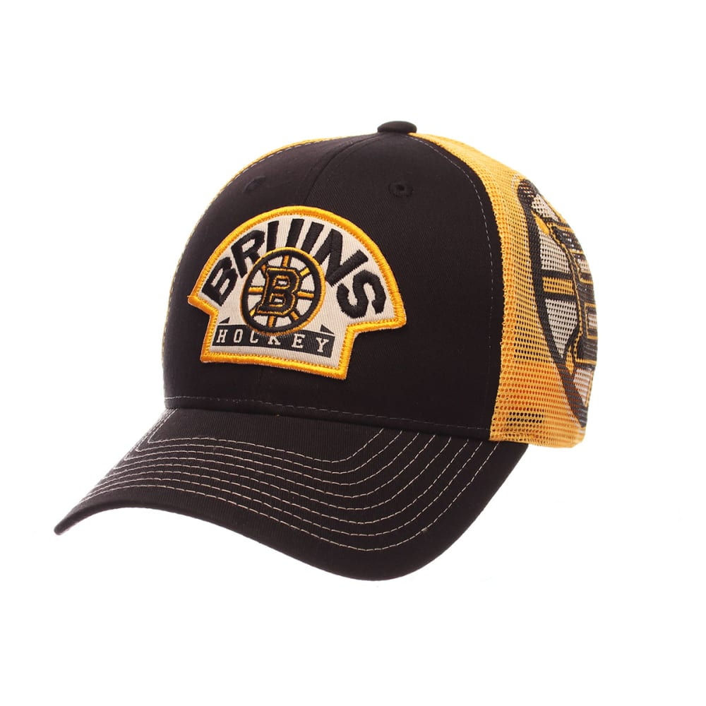 BOSTON BRUINS Interstate Cap - BLACK/YELLOW
