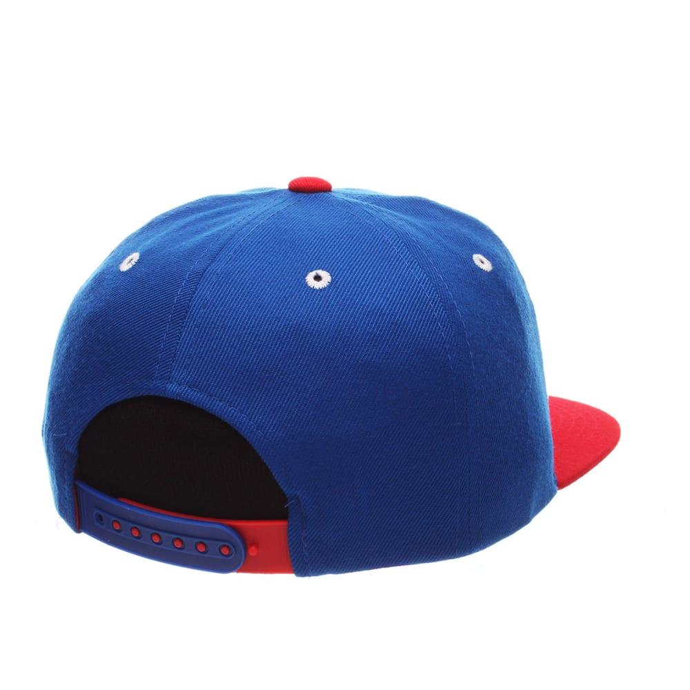 NEW YORK RANGERS Whiplash Snapback Hat - ROYAL BLUE/RED