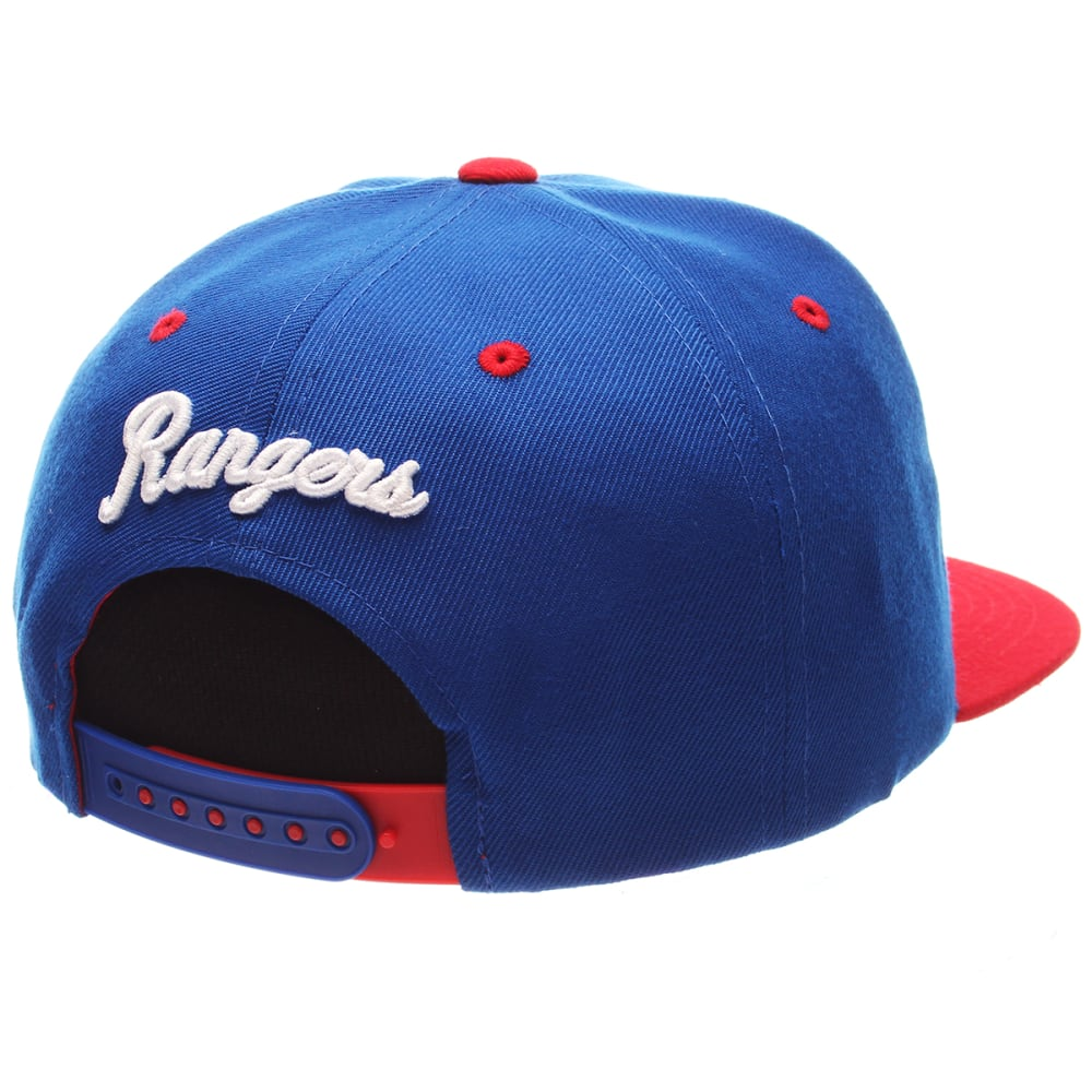 NEW YORK RANGERS Z11 Core Snapback Hat - ROYAL BLUE/RED