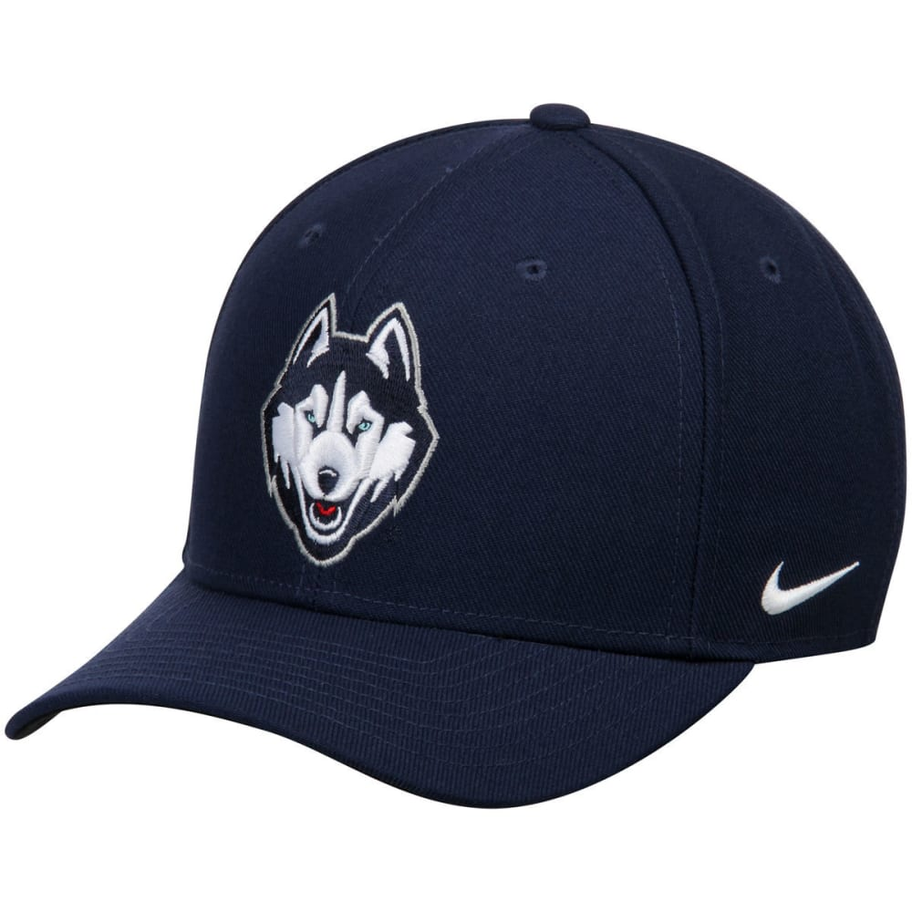 NIKE Men's UConn Dri-FIT Wool Classic Hat - NAVY