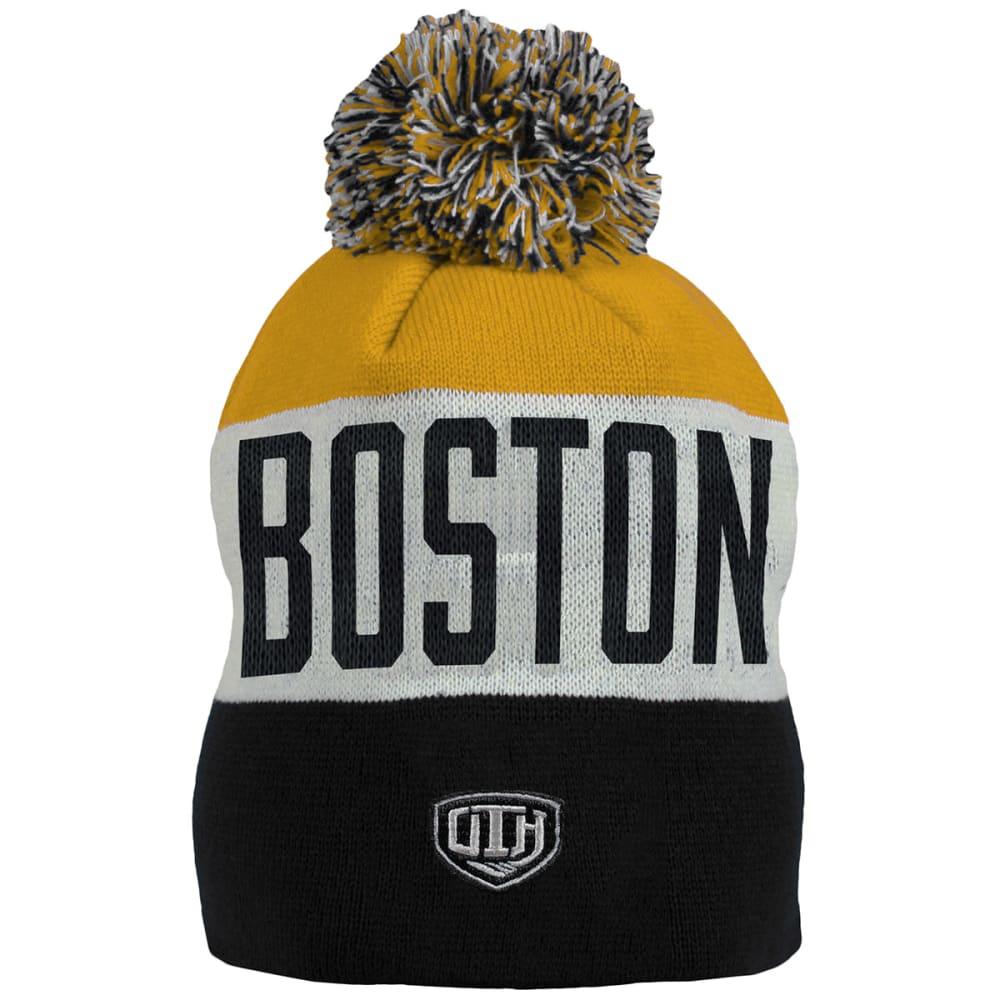 BOSTON BRUINS Travy Cuffed Pom Hat - MULTI