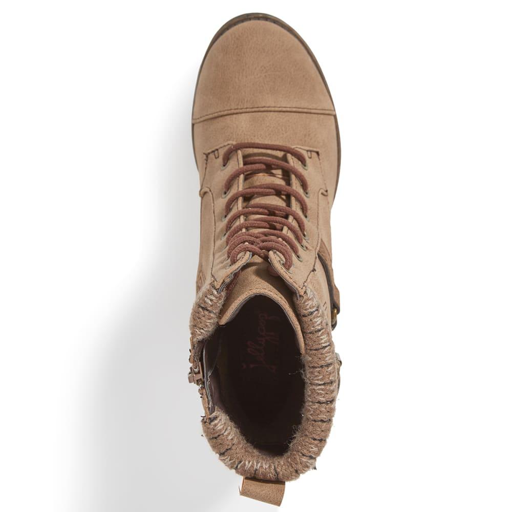 JELLYPOP Women's Len Lace-Up Boots - SAND