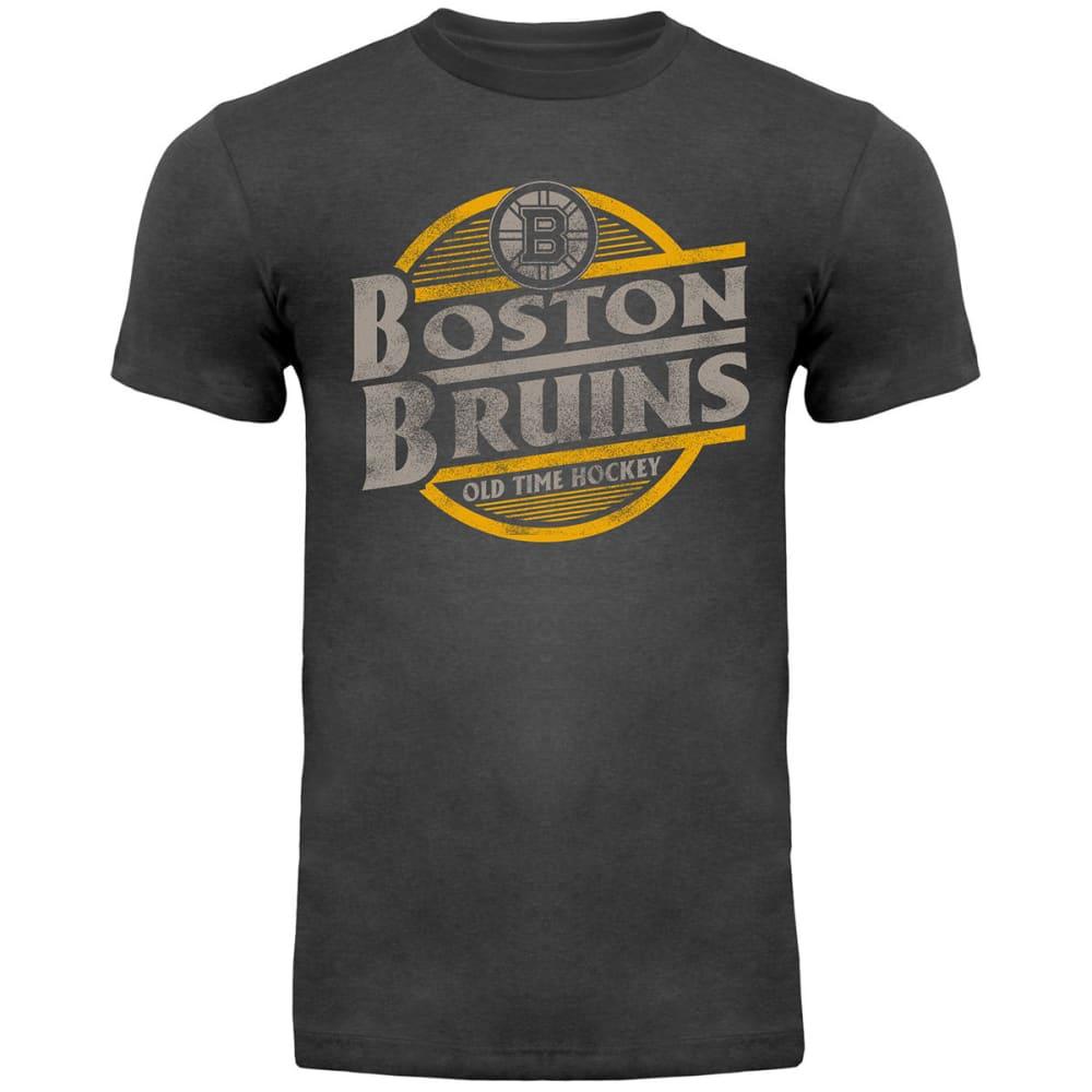 BOSTON BRUINS Men's Coil Short Sleeve Tee - CHARCOAL