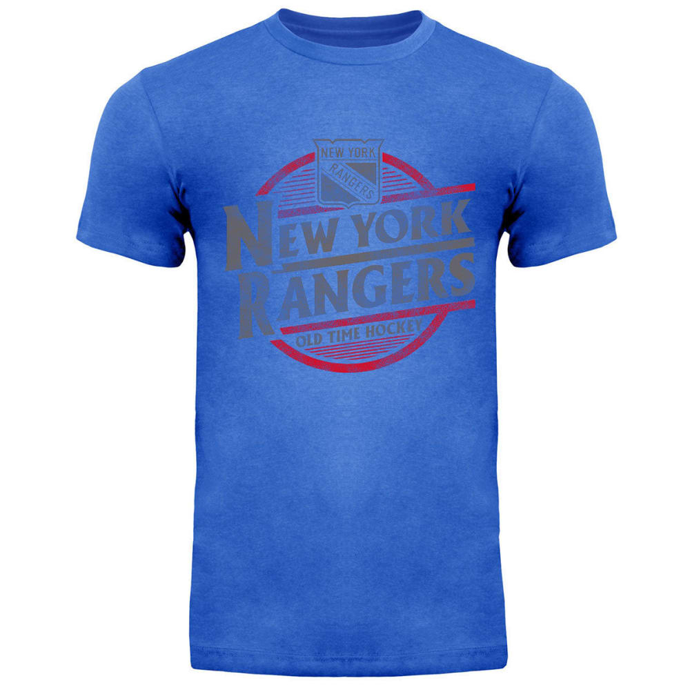 NEW YORK RANGERS Men's Coil Short-Sleeve Tee - ROYAL BLUE