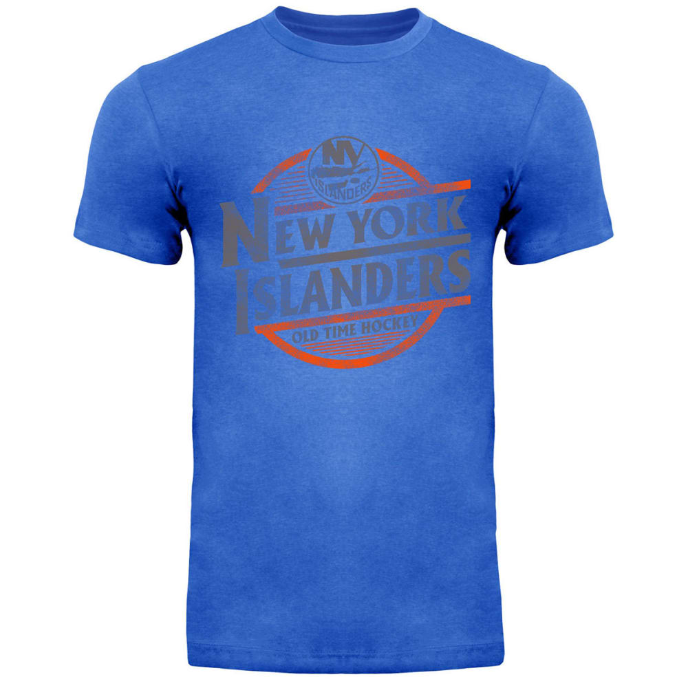 NEW YORK ISLANDERS Men's Coil Short-Sleeve Tee - ROYAL BLUE